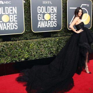 Mutatjuk a legszebb ruhákat a Golden Globe vörös szőnyegéről