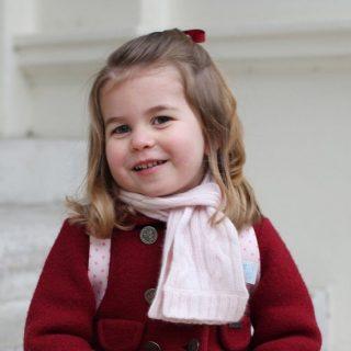 Tündéri képek Charlotte hercegnő első óvodai napjáról