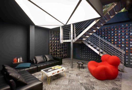 Designer iroda nyílt a budai villamos remíz helyén