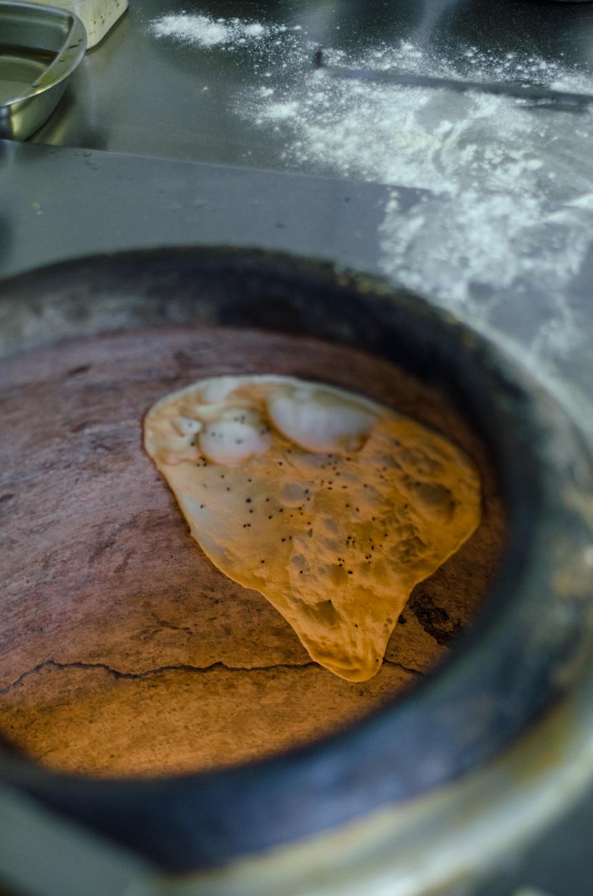 2. kép: Az indiai kenyér