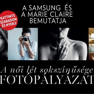 A Samsung és a Marie Claire bemutatja  A női lét sokszínűsége fotópályázat