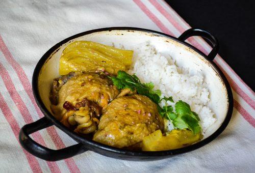 Maximum íz, minimum erőfeszítés: perzsa édesköményes csirke