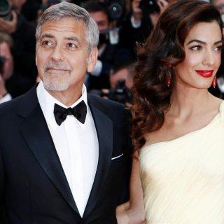 George és Amal Clooney a migráns gyerekeket támogatja