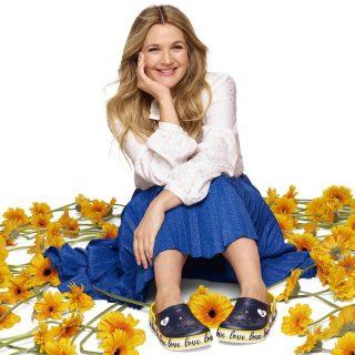 Drew Barrymore a trendi papucs új arca