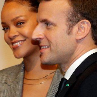 Rihanna és Emmanuel Macron közösen harcol a senegali oktatás jövőjéért
