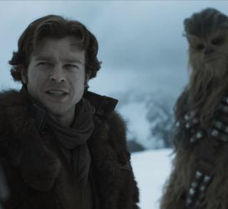 Han Solo már fiatalon is pofátlanul vagány volt