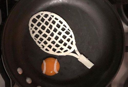Tükörtojásból készült a legfinomabb teniszütő