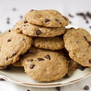 Vegán chocholate chip cookies