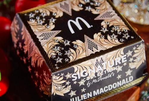 Couture burgerdobozzal állt elő a McDonald's