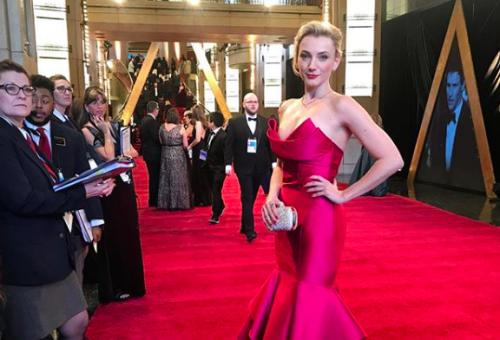 Hogyan választott ruhát az Oscarra Borbély Alexandra?