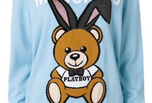 Playboy-nyuszis luxus szvetter