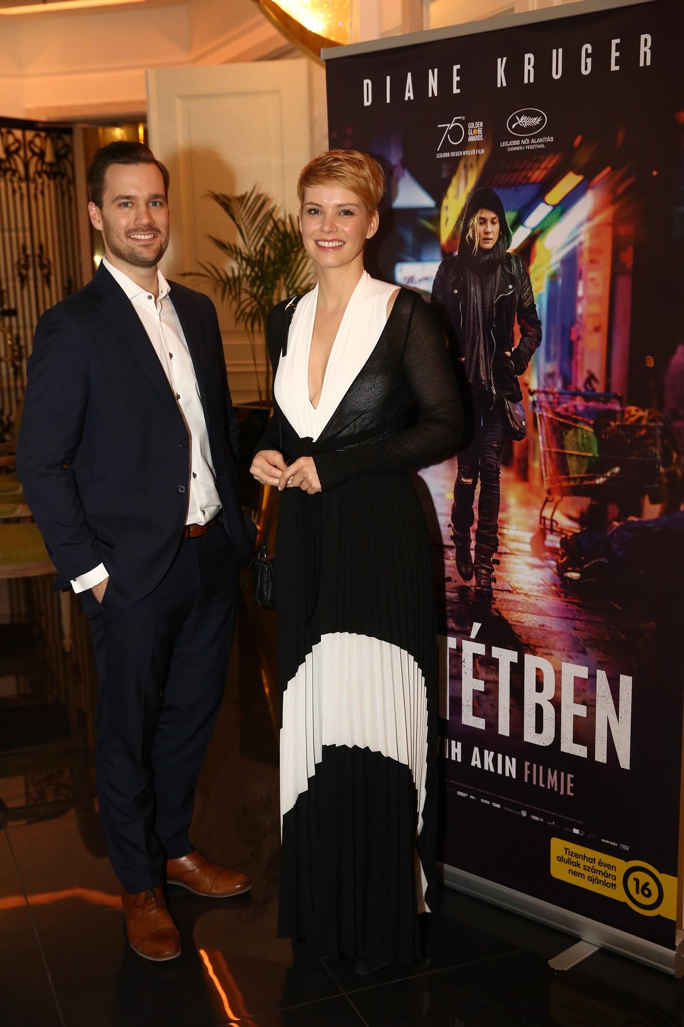 9. kép: Osvárt Andrea és a Kecskemethy Zoltán, az Aria Hotel Budapest igazgatója