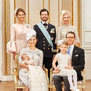 Megszületett a svéd trónörökös