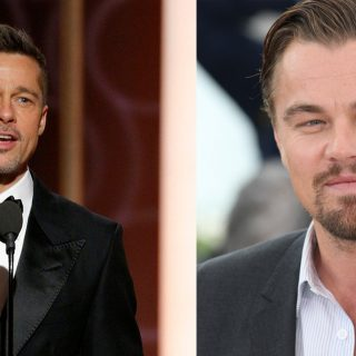 Istenien áll a retro Brad Pittnek és Leonardo DiCapriónak
