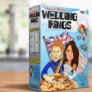 Már beszerezhetjük a brit királyi esküvő vicces szuvenírjeit