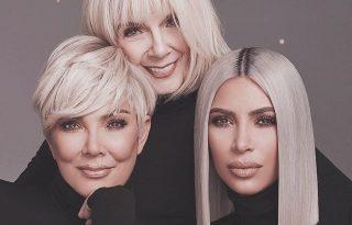 Kim Kardashian nagyijával és anyukájával promózza legújabb termékét