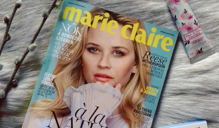 Ti és az áprilisi Marie Claire