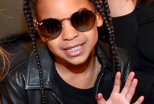 Beyoncé 6 éves kislányának már saját stylistja van