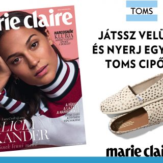 Marie Claire loves TOMS