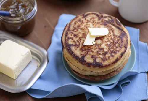 Angol palacsinta reggelire – crumpet