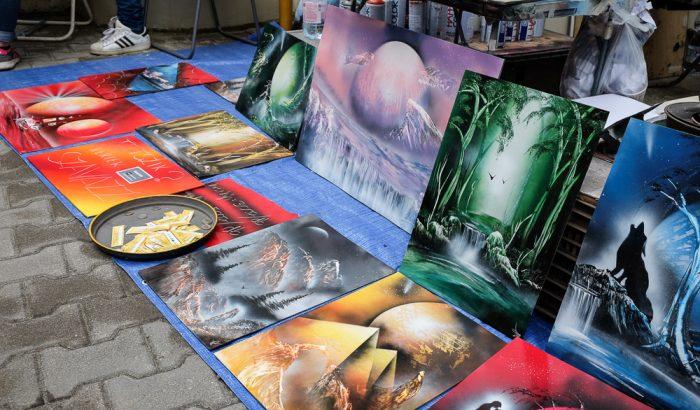 Utcára mennek a művészek