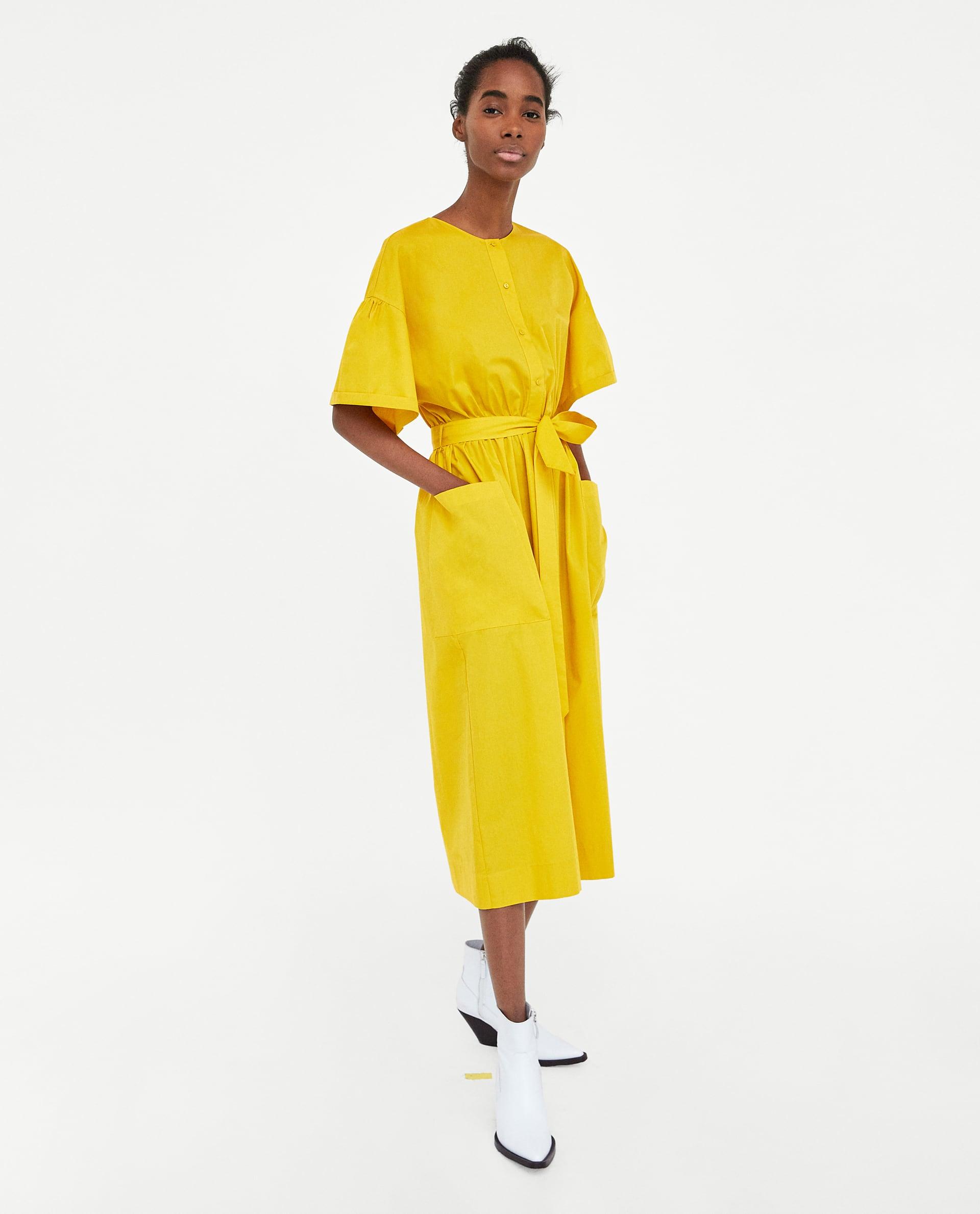 10. kép:   Sárga ruha Zara 12 995 Ft