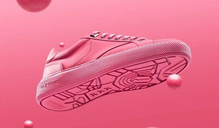 Pink edzőcipőt készítettek az utcán eldobott rágókból