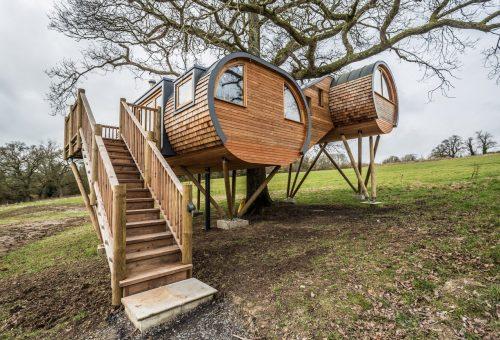 Álomszép lombház 100 ezer forintért egy éjszakára