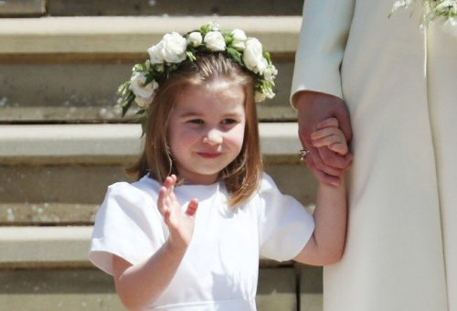 Naná, hogy Charlotte volt a legcukibb Harry hercegék esküvőjén