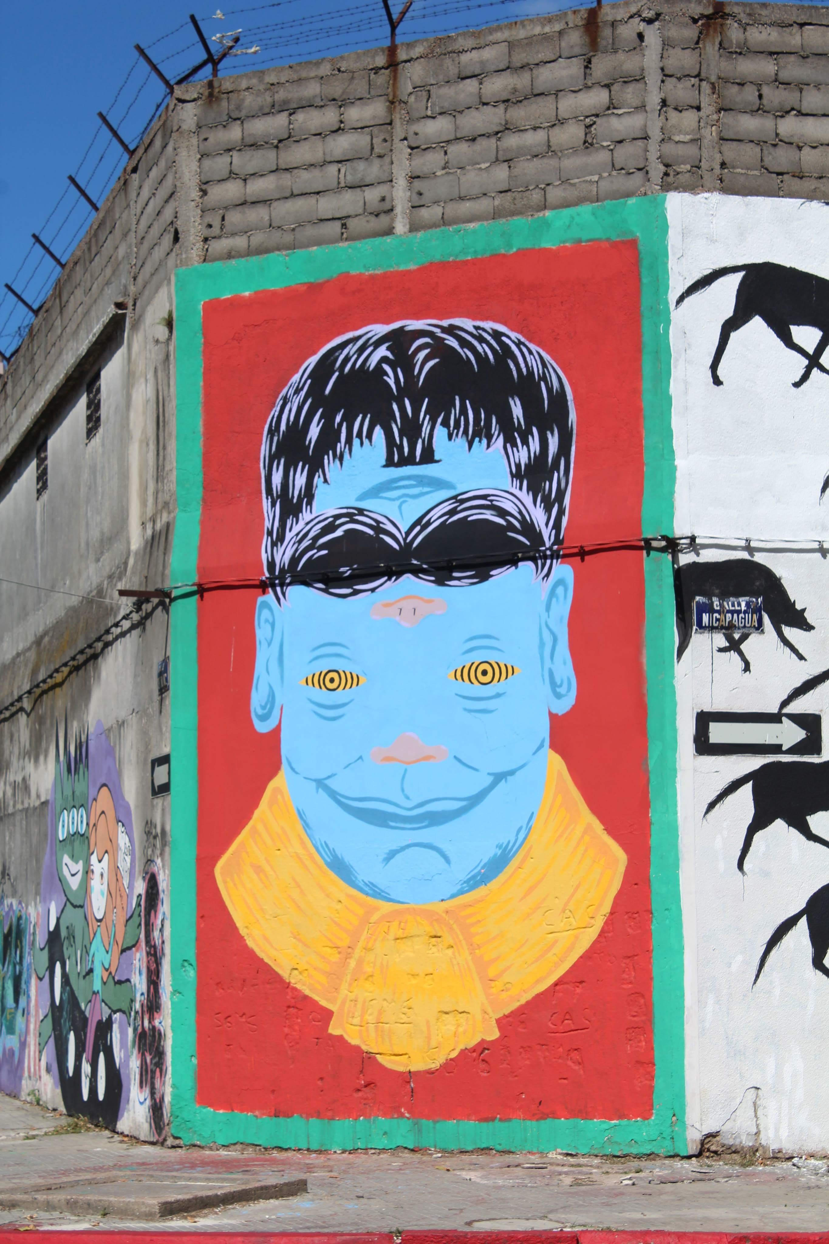 5. kép: Montevideo, street art