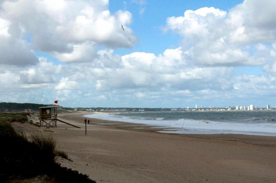 6. kép: Tengerpartok Punta del Este körül