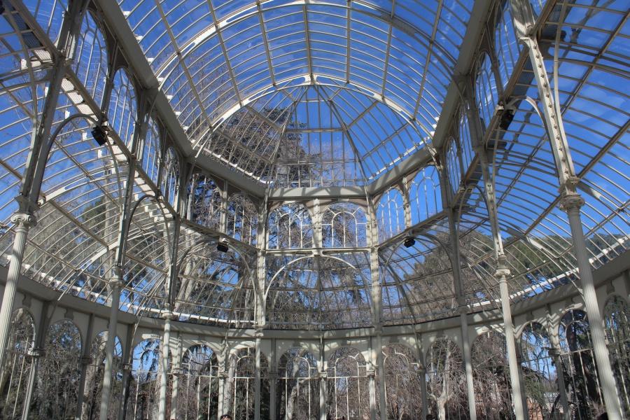 4. kép:  El Retiro park, Madrid – Palacio cristal