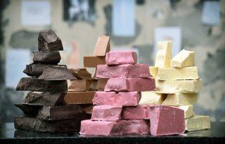 Szexi rózsaszín csokoládéért őrült meg az internet