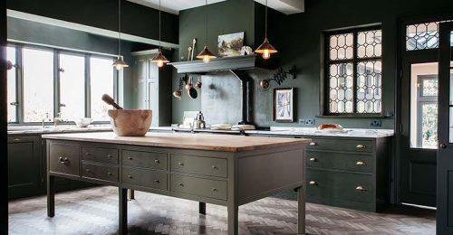 Imádjuk ezeket a zöldbe borult konyhákat