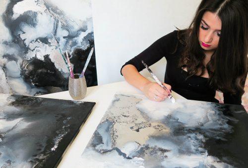 Feltörekvők: Bernadett Shepherd, festőművész