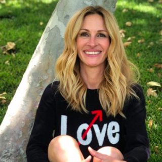 Julia Roberts végre regisztrált az Instagramra