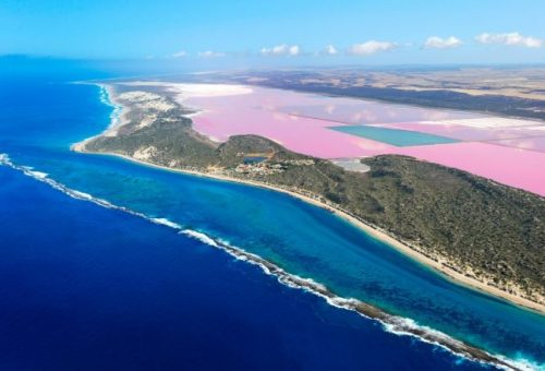 10 rózsaszín tó, amitől eláll a lélegzeted