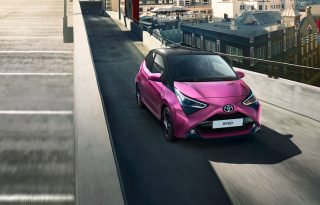 Stílusosan érkezett meg a vadonatúj Toyota Aygo Magyarországra