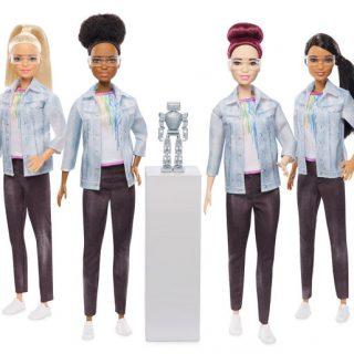 Robotépítő Barbie inspirálja a fiatal lányokat