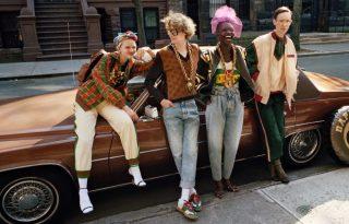 A Gucci retro kollaborációjánál ma nem láttunk szebbet