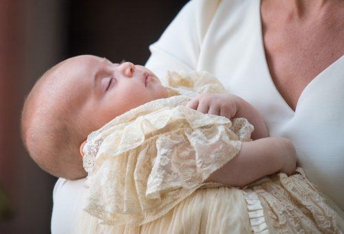 A kis Lajos herceg tündéri volt a keresztelőn