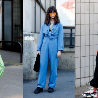 Így kombinálják az elegáns darabokat csúnya sportcipővel a párizsi fashionisták