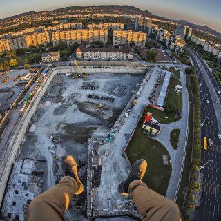 Brutális magasságból készült Rizsavi Tamás legújabb Budapest-fotója
