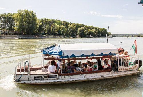 Összművészeti és urbanisztikai fesztivál a Dunán