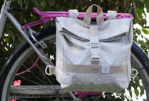 Csomagtartó-táska biciklire magyar tervezőtől