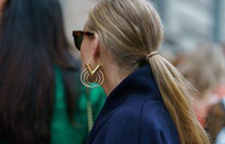 Csak legyen nagy és csillogó: arany fülbevalók