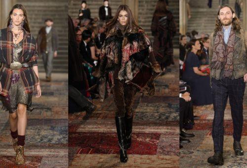 Sikkes patchwork Ralph Laurentől a New York Fashion Weeken