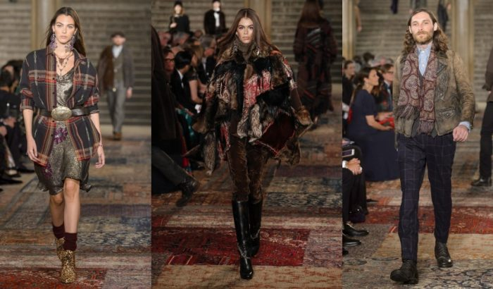 Sikkes patchwork Ralph Laurentől a New York Fashion Weeken