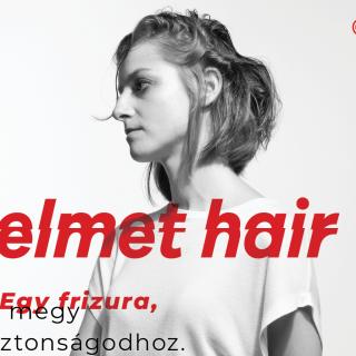 Itt a helmet hair trend