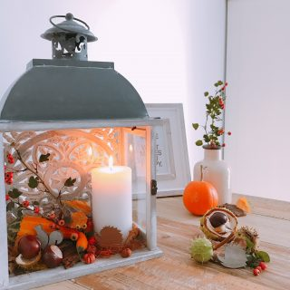 Őszi asztali dekor percek alatt